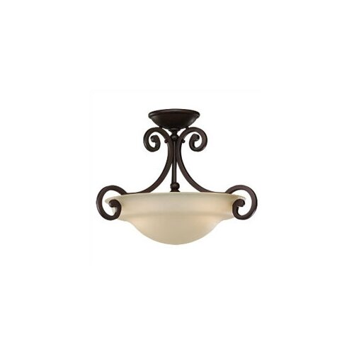 Sea Gull Lighting Acadia 2 Light Semi Flush Mount