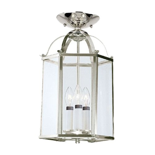 Sea Gull Lighting 3 Light Foyer Pendant