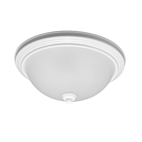 Sea Gull Lighting Del Prato 1 Light Flush Mount