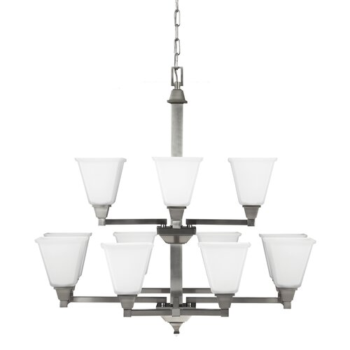 Denhelm 12 Light Chandelier