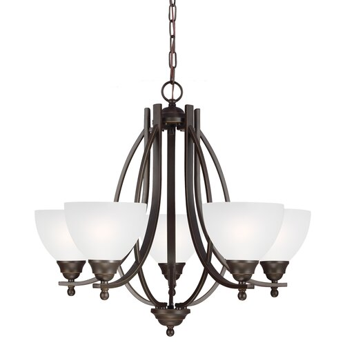 Vitelli 5 Light Chandelier