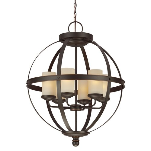 Sea Gull Lights: Sea Gull Lighting Sfera 6 Light Chandelier & Reviews