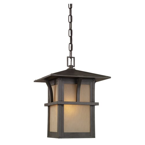 Sea Gull Lighting Medford Lakes 1 Light Outdoor Hanging Lantern