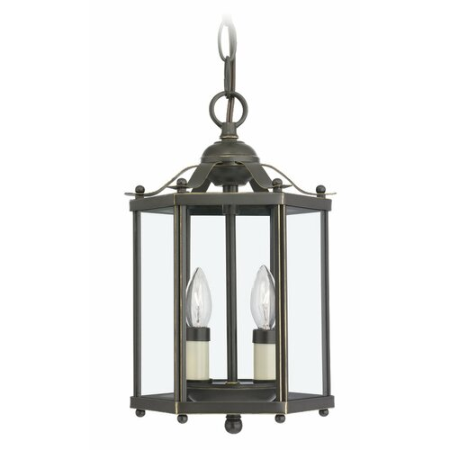 Sea Gull Lighting 2 Light Foyer Pendant