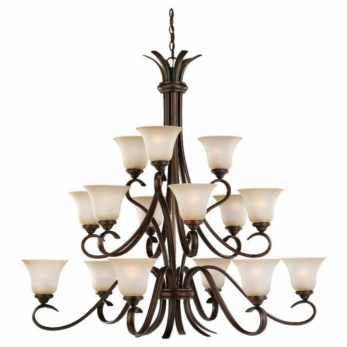 Sea Gull Lighting Rialto 15 Light Chandelier