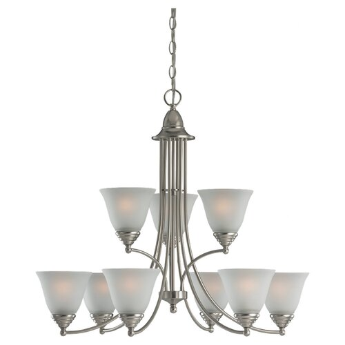 Sea Gull Lighting Albany 9 Light Chandelier
