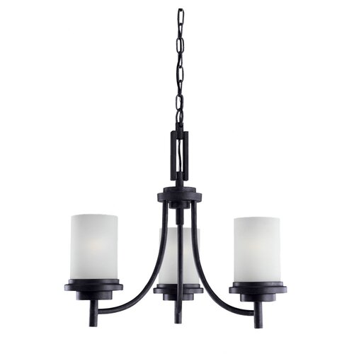 Sea Gull Lighting Winnetka 3 Light Chandelier