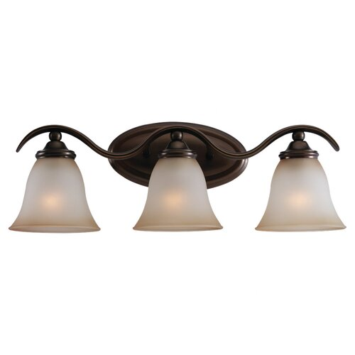 Sea Gull Lighting Rialto 3 Light Vanity Light