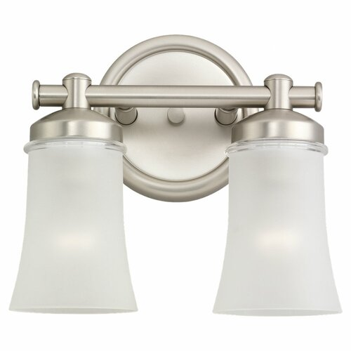 Sea Gull Lighting Newport 2 Light Wall Sconce