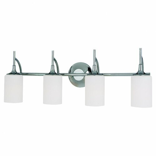 Sea Gull Lighting Stirling 4 Light Bath Vanity Light amp; Reviews