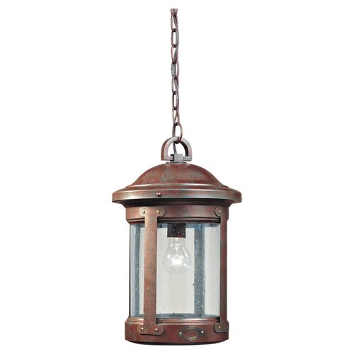 Sea Gull Lighting H.S.S. CO-OP 1 Light Outdoor Pendant
