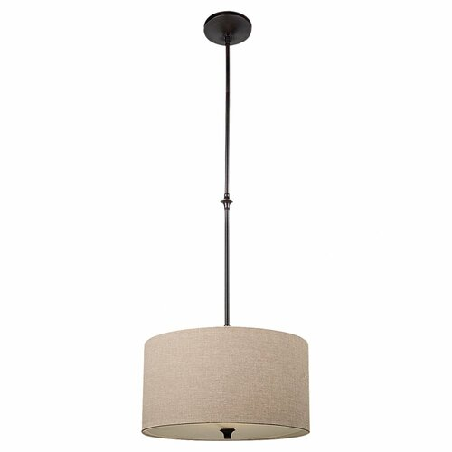 Sea Gull Lighting Stirling 1 Light Drum Pendant
