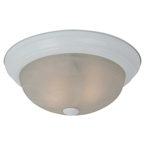 Sea Gull Lighting Windgate 2 Light Flush Mount
