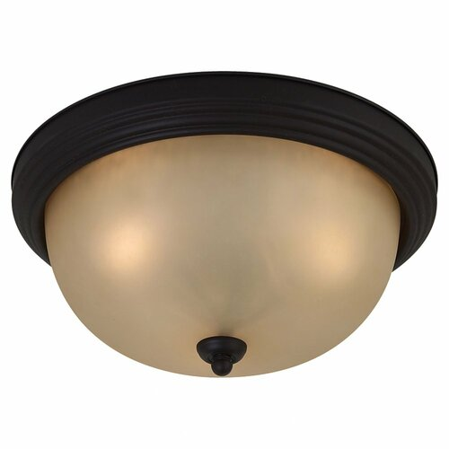 Sea Gull Lighting Del Prato 3 Light Flush Mount