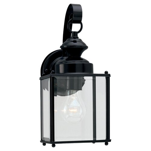 Sea Gull Lighting 1 Light Outdoor Wall Lantern