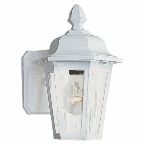 Sea Gull Lighting Classic 1 Light Outdoor Wall Lantern