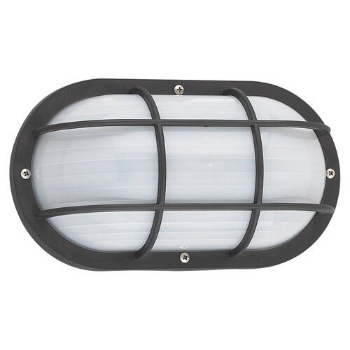 Sea Gull Lighting Bayside Bulkhead 1 Light Wall Lantern