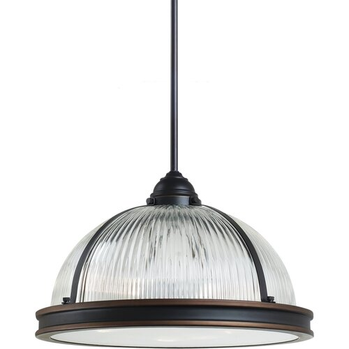 Pratt Street Prismatic 3 Light Pendant