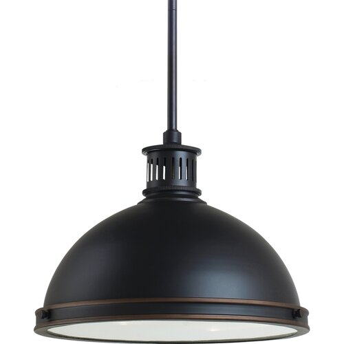 Pratt Street Metal 2 Light Pendant