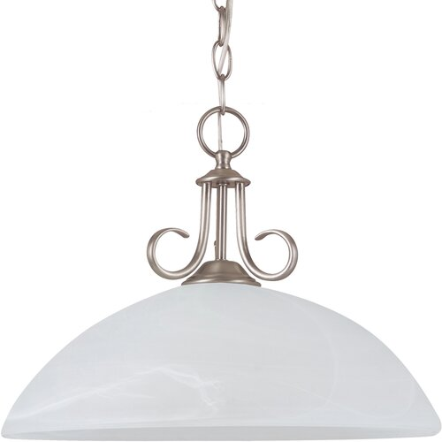 Sea Gull Lighting Lemont 1 Light Down Light Pendant