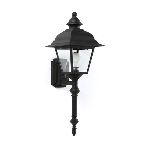 Sea Gull Lighting Bancroft 1 Light Outdoor Wall Lantern
