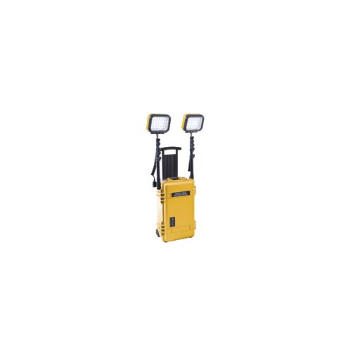 Pelican Products 4 Head 12 Volt Battery LED Remote Area Lighting System Lantern