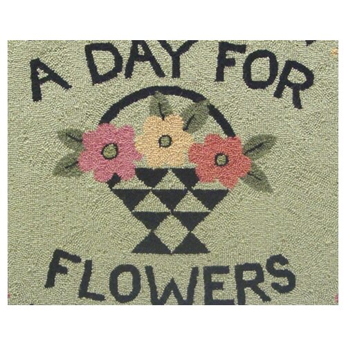 Susan Branch Home A Day For Flowers Novelty Rug