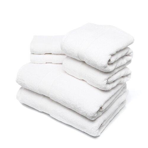 Simple Luxury Superior 900 GSM Egyptian Cotton 6-Piece Towel Set