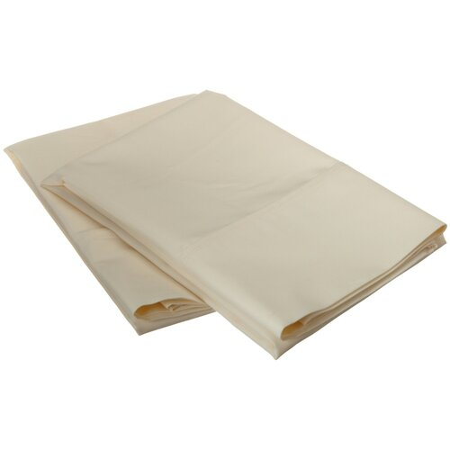 Simple Luxury 600 Thread Count Cotton Rich Solid Pillowcase Pair