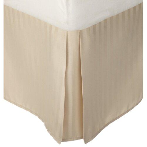 Vanessa Microfiber Stripe Bed Skirt