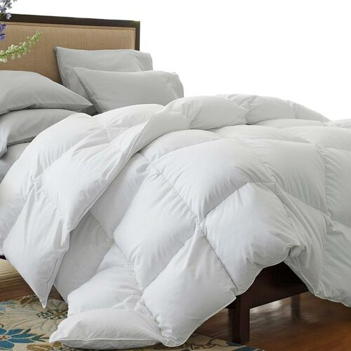 Simple Luxury Oversized 330 Thread Count All-Seasons Down Blend Comforter