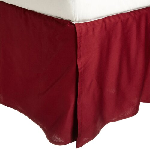 Vanessa Collection Microfiber Solid Bed Skirt