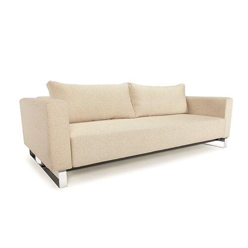 Innovation USA Cassius Sleek Convertible Sofa