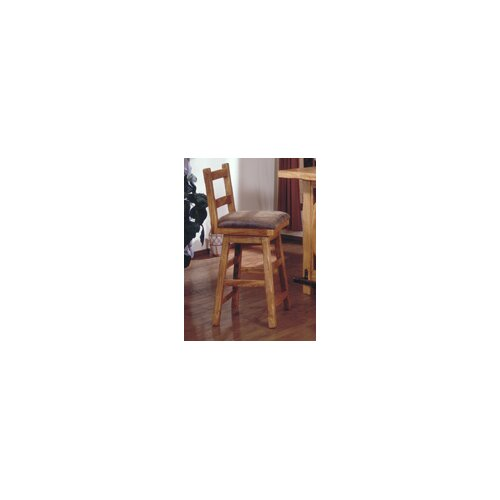 "Artisan Home Furniture Lodge 100 30"" Swivel Bar Stool"