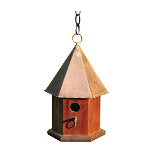 Heartwood Copper Songbird Bird House
