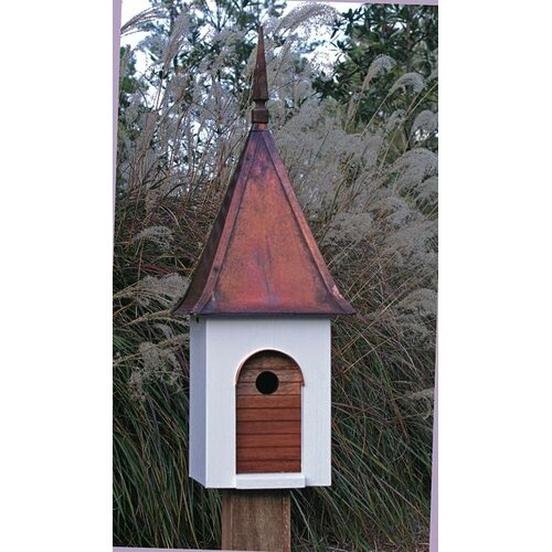 French Villa Bird House