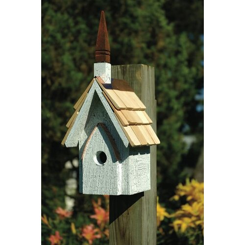 Classic Chapel Bird House