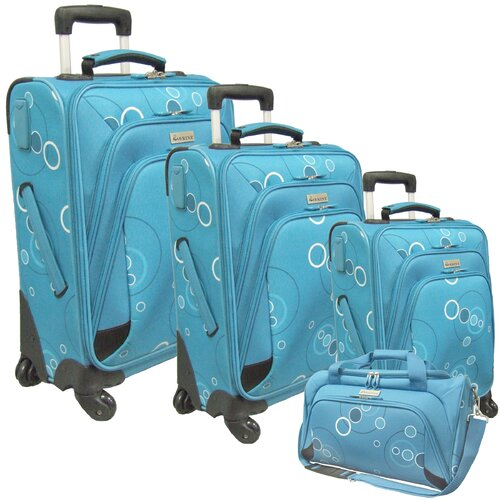 McBrine Luggage 4 Piece Luggage Set