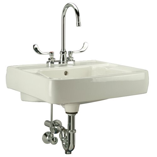 Bathroom Wall Mount Sink : Wall Mounted Bathroom Sink Wayfair