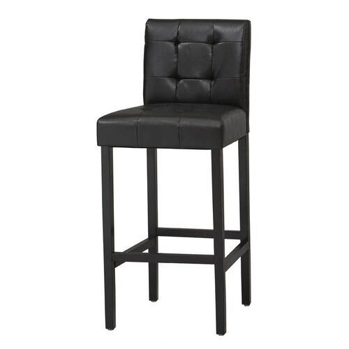 "Linon 24"" Bar Stool with Cushion"