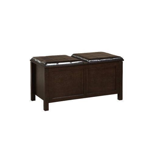 Linon Wooden Storage Bench