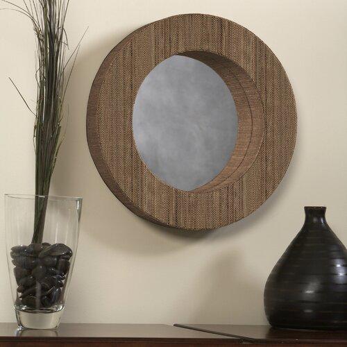 Waterhyacinth Round Mirror