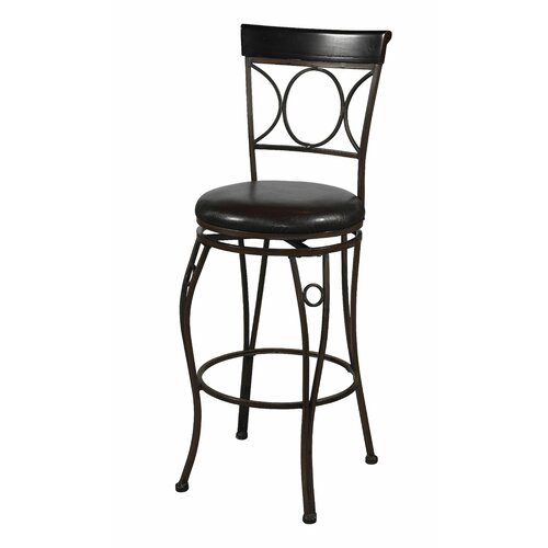 "Linon Circles 24"" Bar Stool"