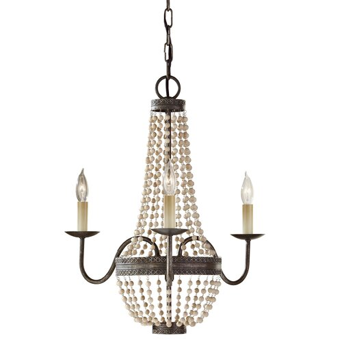 Feiss Charlotte 3 Light Chandelier