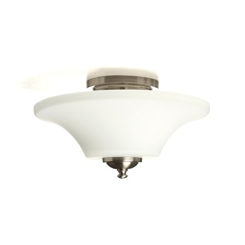 Feiss Barrington 2 Light Semi Flush Mount