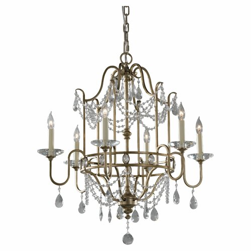 Feiss Gianna 6 Light Chandelier
