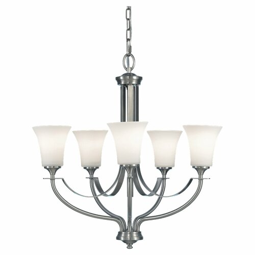 Feiss Barrington 5 Light Chandelier
