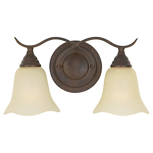 Feiss Morningside 2 Light Vanity Light