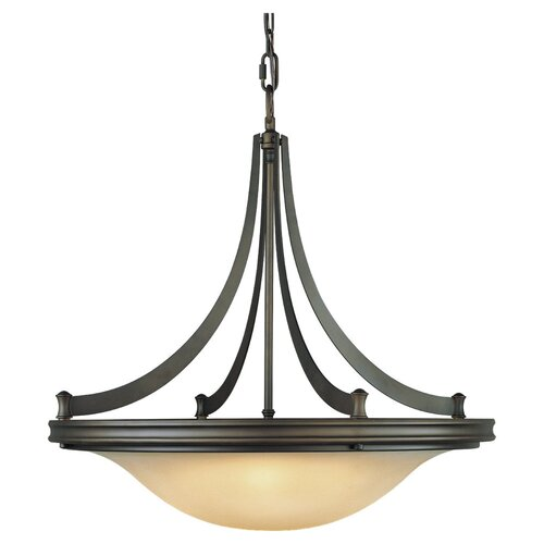Feiss Pub 4 Light Inverted Pendant