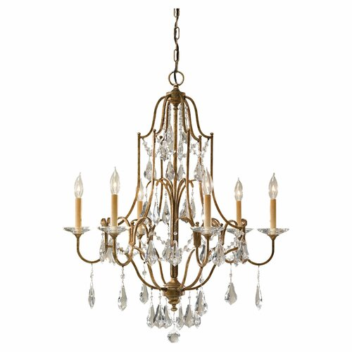Feiss Valentina 6 Light Chandelier